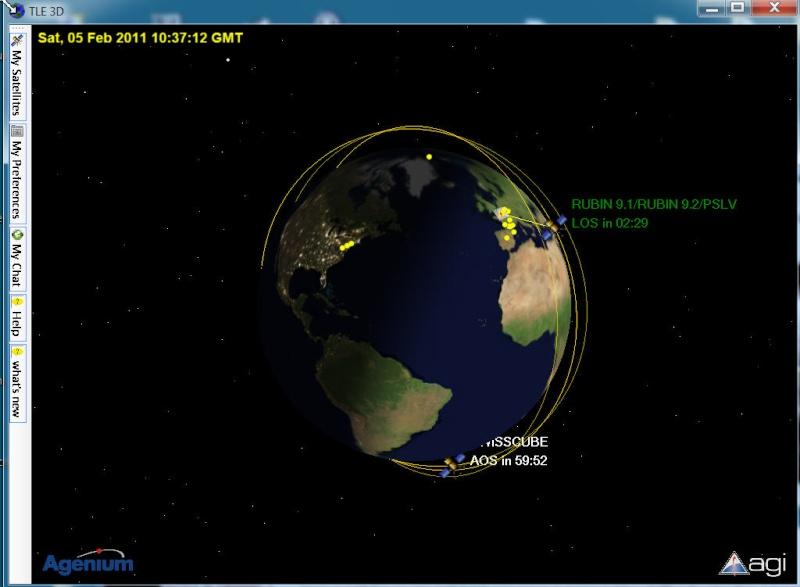 Satellites en temps reel C110