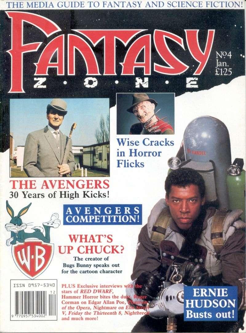Fantasy Zone numéro 4 (janvier 1990) Cover11