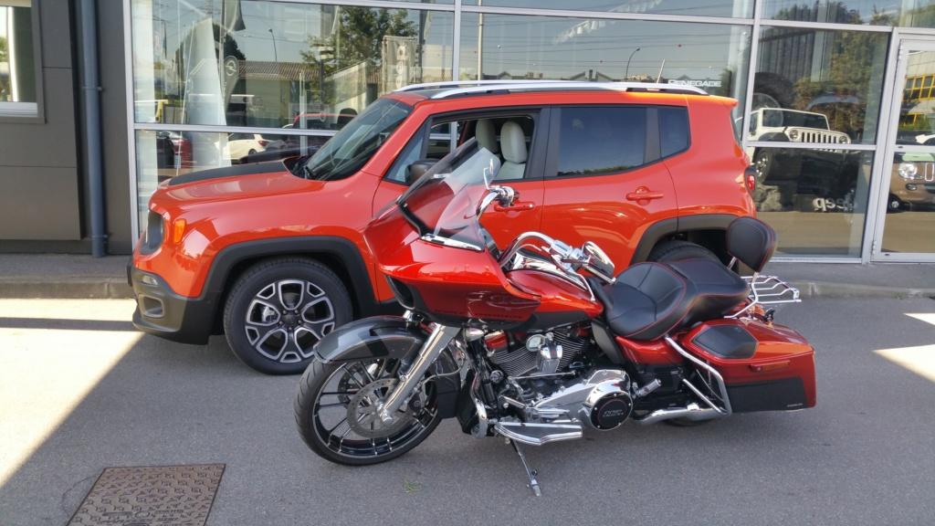 Essai Harley-Davidson Road Glide CVO 117 dans Le Repaire 20180810