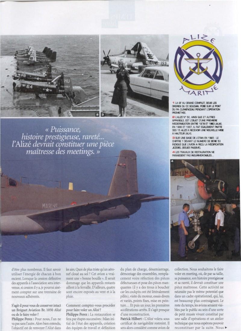 [Aéronavale divers] Breguet Alizé BR 1050 - Page 4 Cols_b14