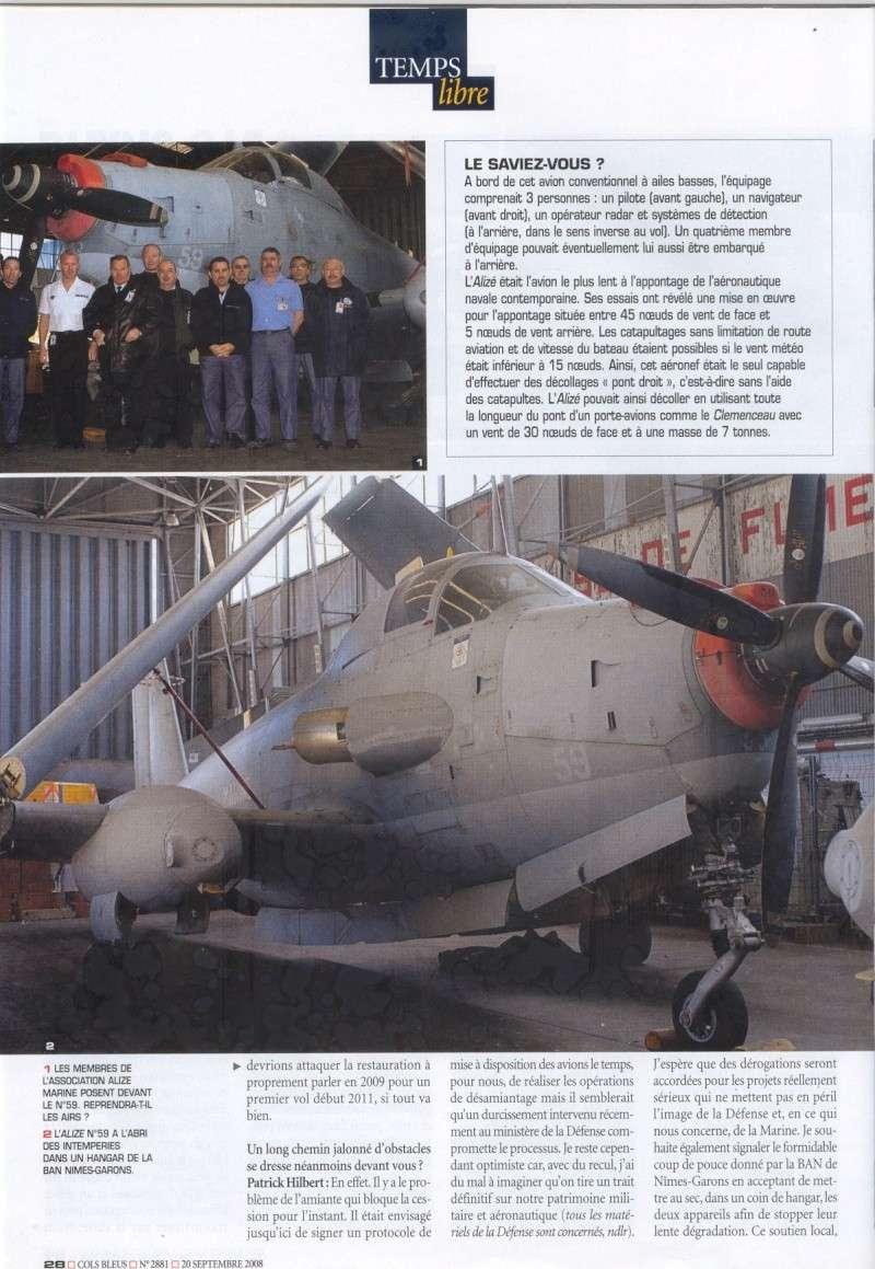 [Aéronavale divers] Breguet Alizé BR 1050 - Page 5 Cols_b17