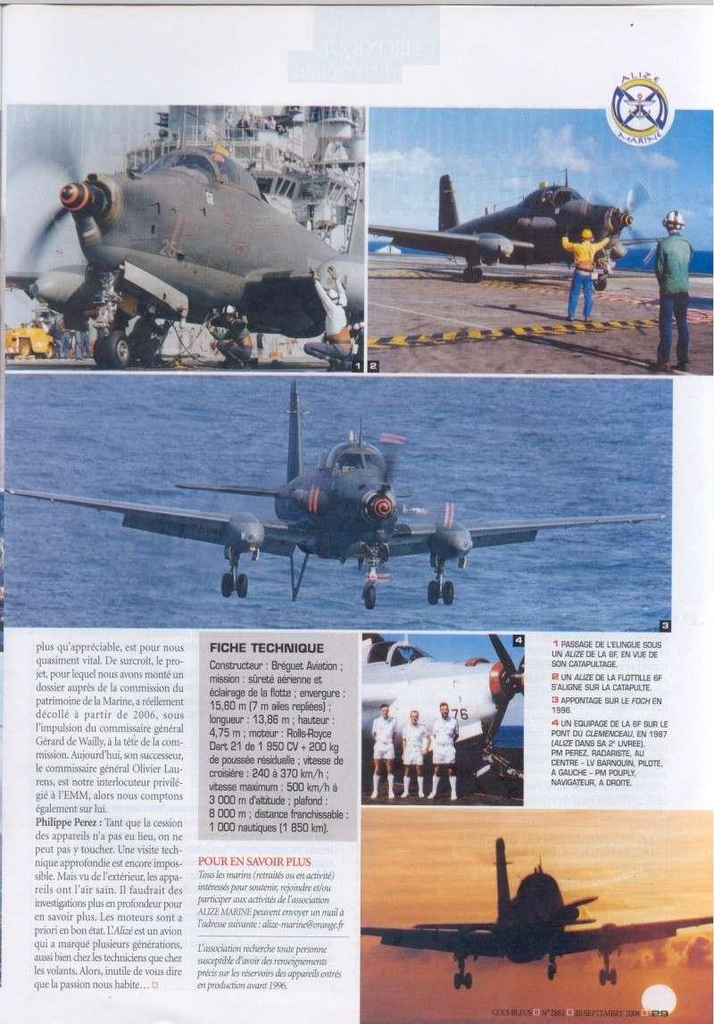 [Aéronavale divers] Breguet Alizé BR 1050 - Page 5 Cols_b18