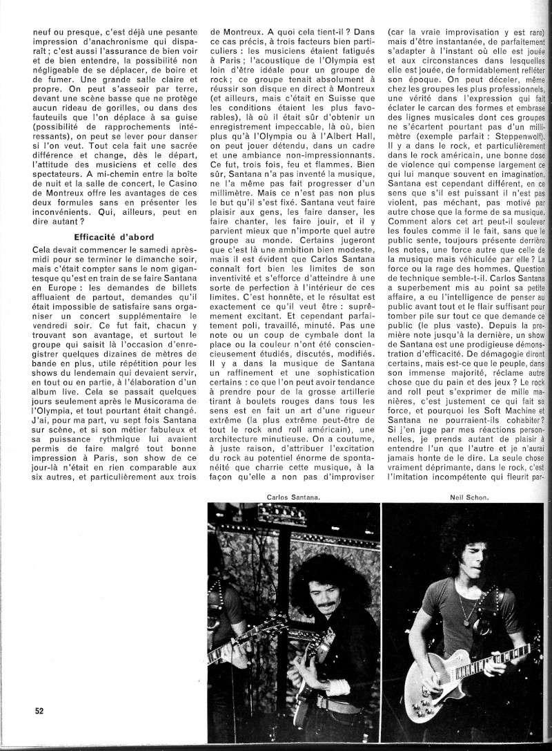 Santana dans la presse musicale française R53-2211