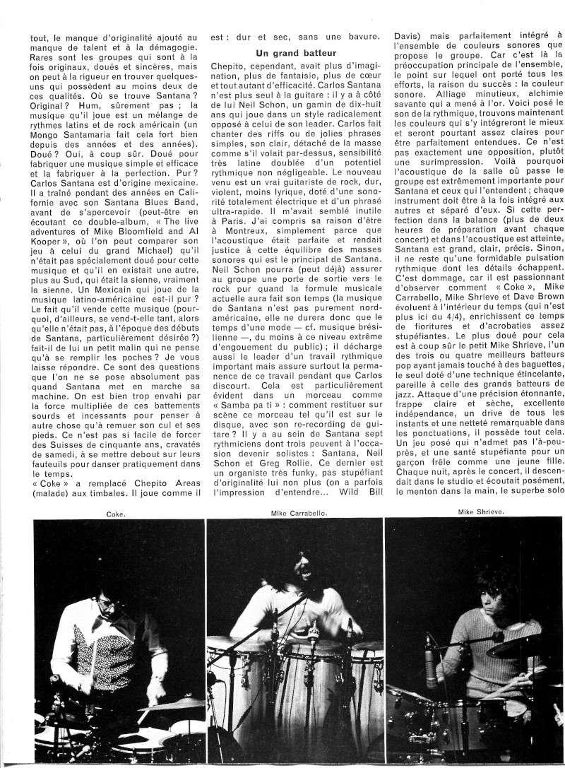 Santana dans la presse musicale française R53-2212