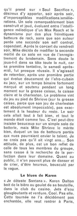 Santana dans la presse musicale française R53-2213