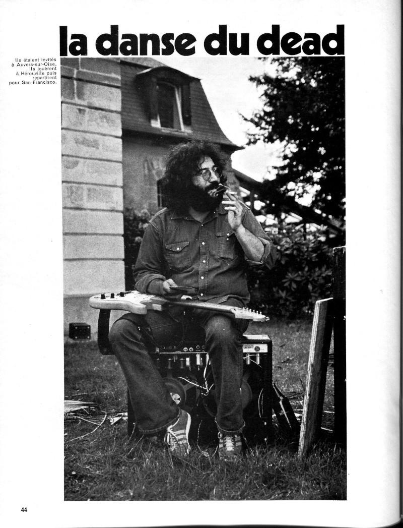 Grateful Dead - Presse Francophone R55-2410