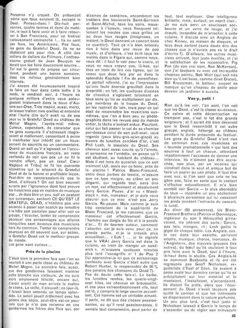 Grateful Dead - Presse Francophone R55-2411