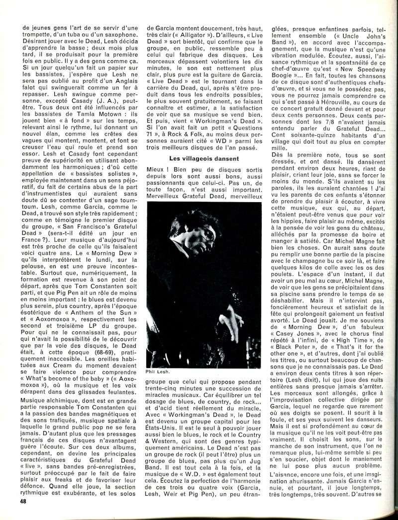 Grateful Dead - Presse Francophone R55-2414