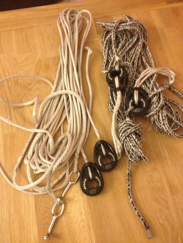 A vendre paire de bastaques dyneema quasi neuves pour Jouet 24 Img_3510