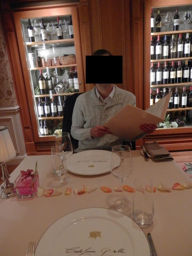 surprise pour mon anniversaire le 13/12/12 : demande en mariage au California Grill Pc130022