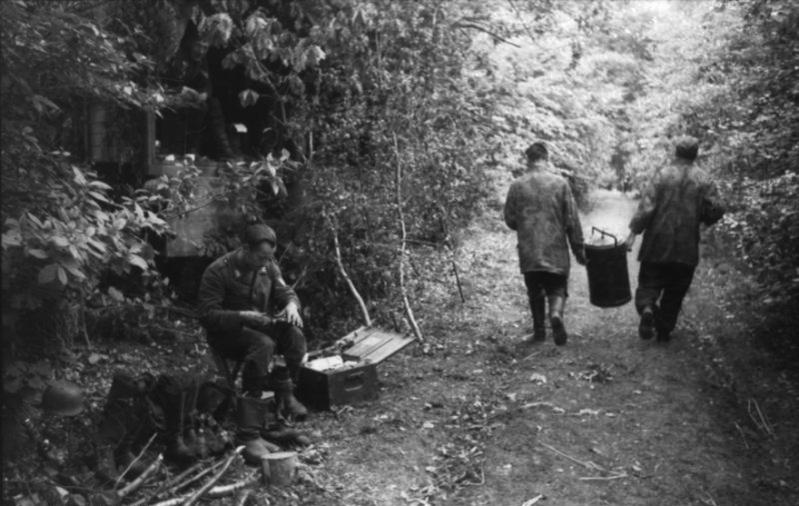 Les troupes de la Luftwaffe en Normandie 30710