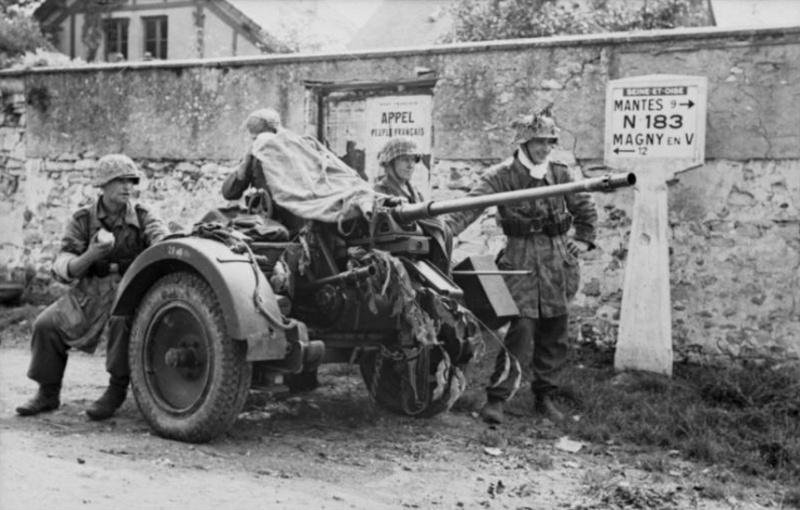Les troupes de la Luftwaffe en Normandie 30810