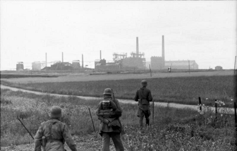 Les troupes de la Luftwaffe en Normandie 50011110