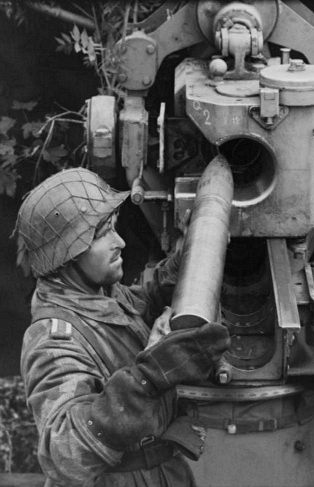 Les troupes de la Luftwaffe en Normandie 50810
