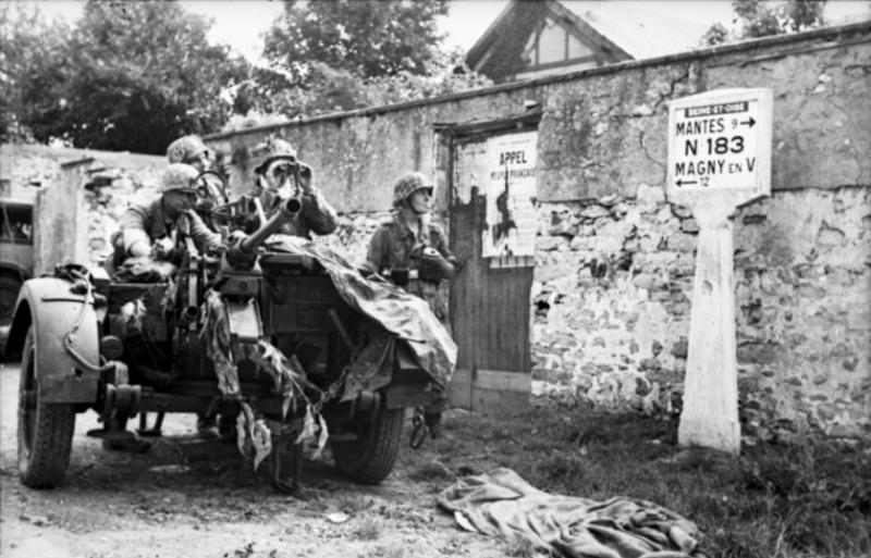 Les troupes de la Luftwaffe en Normandie 510b10