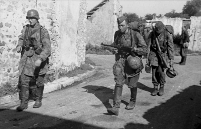 Les troupes de la Luftwaffe en Normandie A111