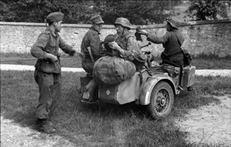 Les troupes de la Luftwaffe en Normandie B111