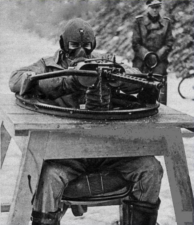 Les soldats de la Luftwaffe à l'instruction Sgs10
