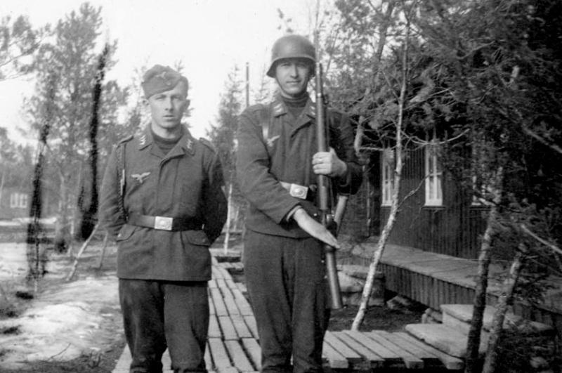 Les soldats de la Luftwaffe à l'instruction Ttc1011