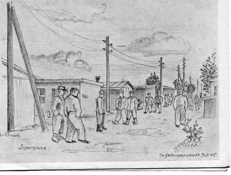 Dessins camp de prisonniers allemands  Rosy1716