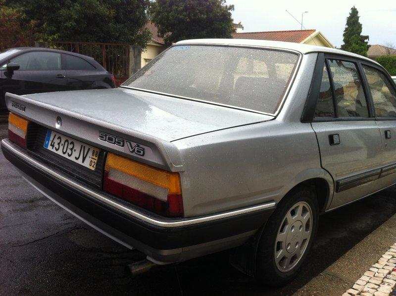 [ Vendo ] Clássico raro - Peugeot 505 V6 2.9 Imagem12