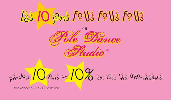 [PALAISEAU] Pole Dance Studio Offre-12