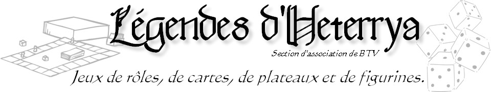 Légendes d'Heterrya