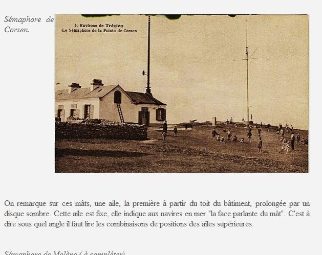 [ Les sémaphores - divers ] LES SEMAPHORES DANS L'HISTOIRE - Page 2 Sem1310