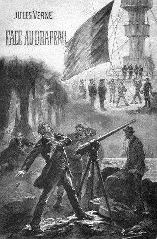 FACE AU DRAPEAU de Jules Verne 00110