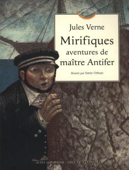 MIRIFIQUES AVENTURES DE MAITRE ANTIFER de Jules Verne Actess10