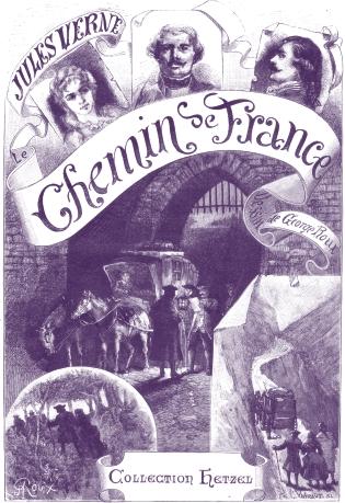 LE CHEMIN DE FRANCE de Jules Verne Fran0110