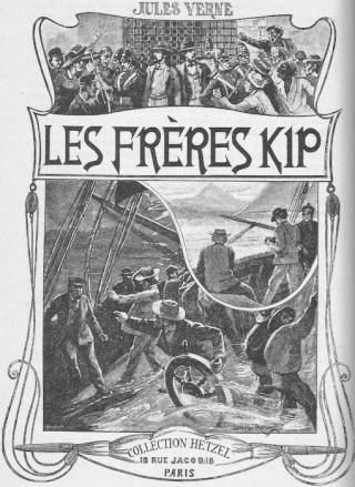 LES FRÈRES KIP de Jules Verne Fronti11