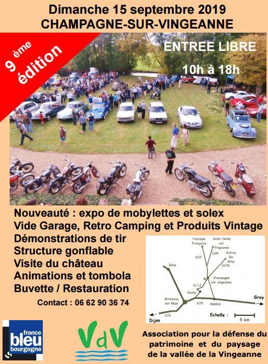 Expo Chateau d'Etrabonne à Champagne sur Vingeanne le 15 septembre Retrom10