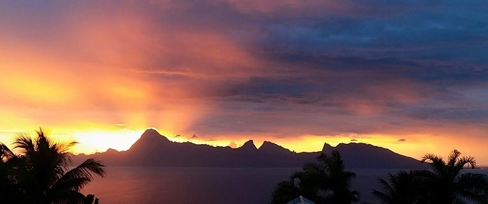 Mes couchers de soleil polynésiens 10343511