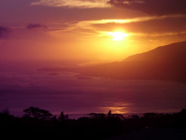 Concours le plus beau coucher de soleil Puunui10