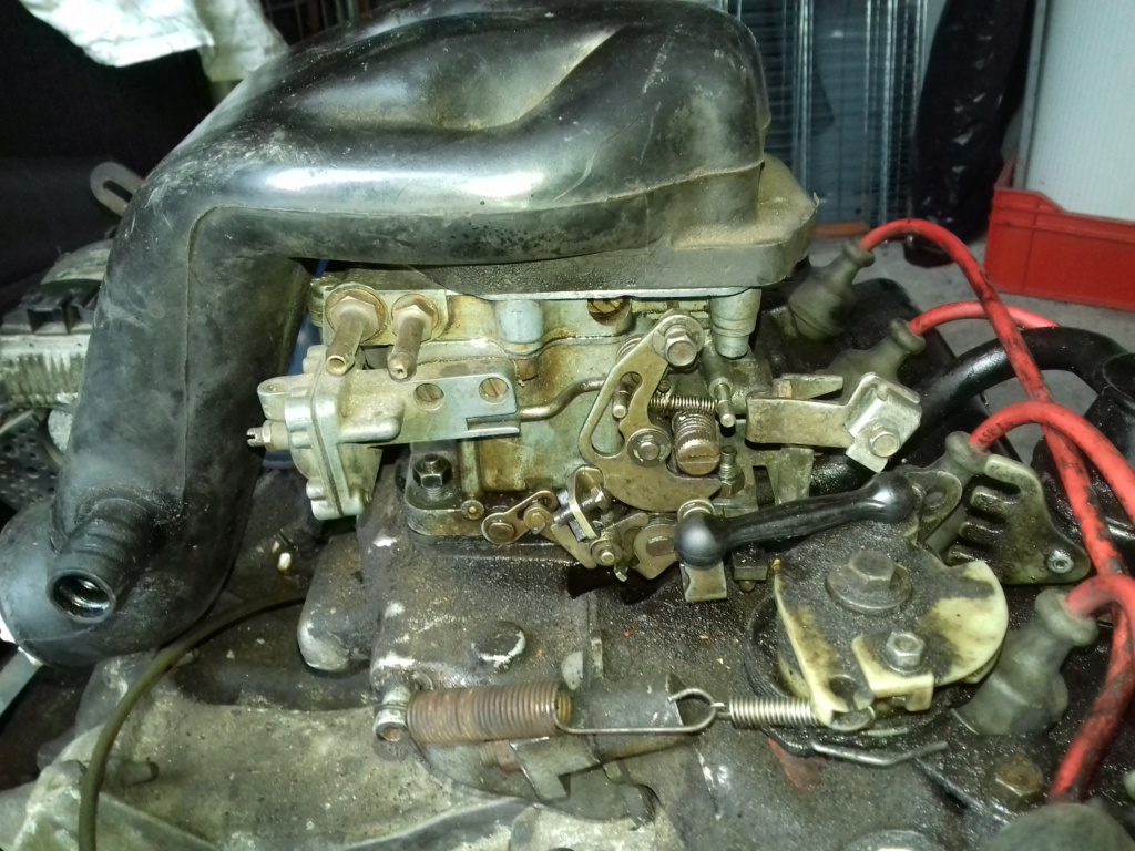 Montage carburateur solex 32/35 cicsa  20190312