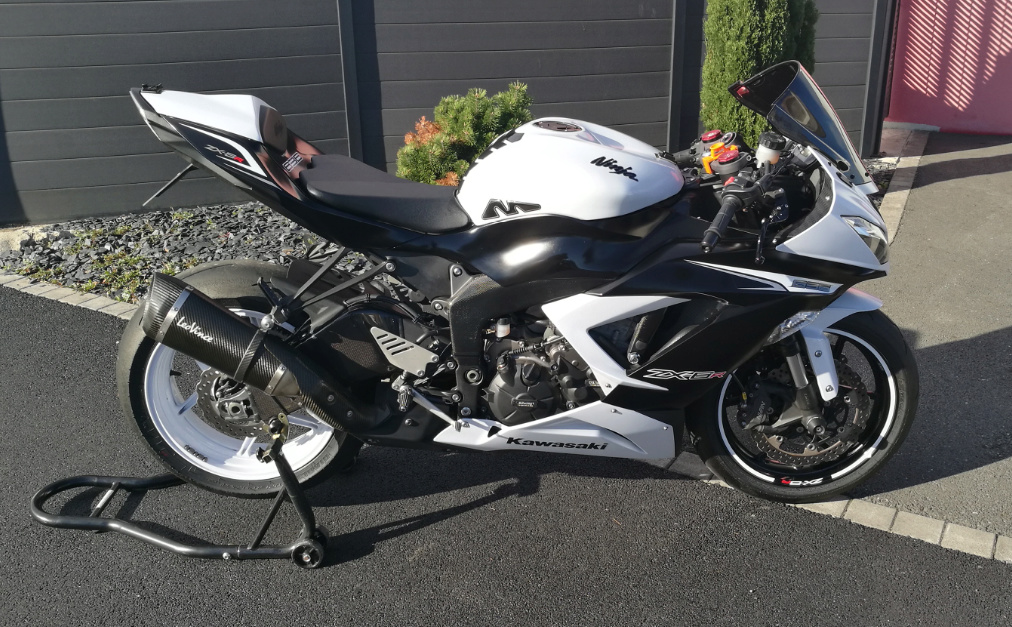 Kawasaki 636 2013 21000km 8200€ => 7500€ - Excellent état 210