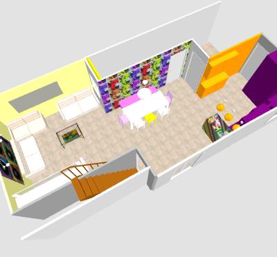 conseil pour reorganiser un espace de 40m² ( choix table de repas ! on vote svp p3) - Page 2 Mika210
