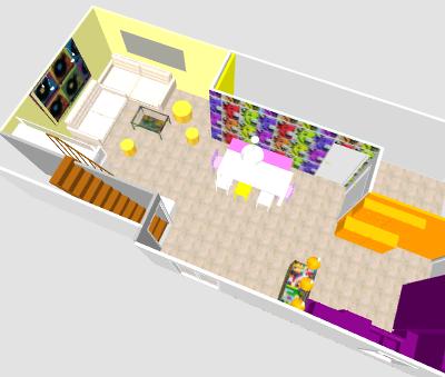 conseil pour reorganiser un espace de 40m² ( choix table de repas ! on vote svp p3) - Page 2 Mika310