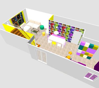 conseil pour reorganiser un espace de 40m² ( choix table de repas ! on vote svp p3) - Page 2 Mika410