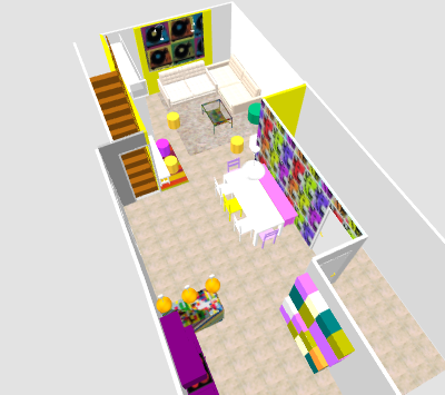 conseil pour reorganiser un espace de 40m² ( choix table de repas ! on vote svp p3) - Page 2 Mika510
