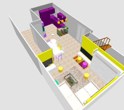 conseil pour reorganiser un espace de 40m² ( choix table de repas ! on vote svp p3) - Page 2 Mika610