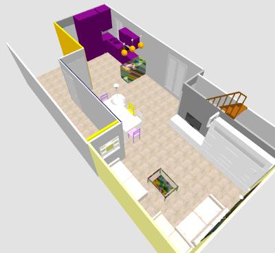 conseil pour reorganiser un espace de 40m² ( choix table de repas ! on vote svp p3) - Page 2 Mikajo11