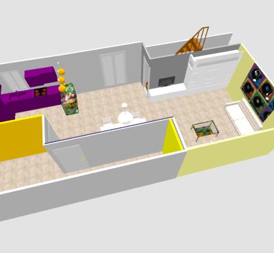conseil pour reorganiser un espace de 40m² ( choix table de repas ! on vote svp p3) - Page 2 Mikajo12