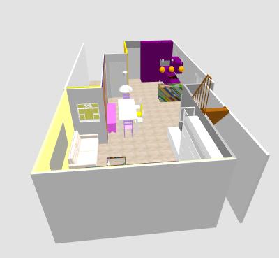 conseil pour reorganiser un espace de 40m² ( choix table de repas ! on vote svp p3) - Page 2 Mikajo13