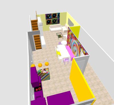 conseil pour reorganiser un espace de 40m² ( choix table de repas ! on vote svp p3) - Page 2 Mikajo14