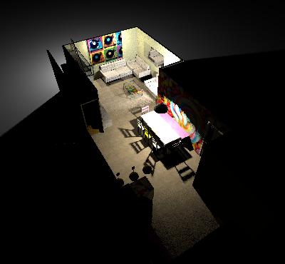 conseil pour reorganiser un espace de 40m² ( choix table de repas ! on vote svp p3) - Page 2 Mikanu11