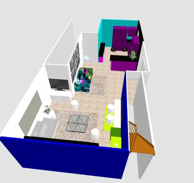 conseil pour reorganiser un espace de 40m² ( choix table de repas ! on vote svp p3) - Page 5 Mikatu10