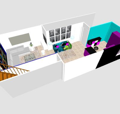 conseil pour reorganiser un espace de 40m² ( choix table de repas ! on vote svp p3) - Page 5 Mikatu12