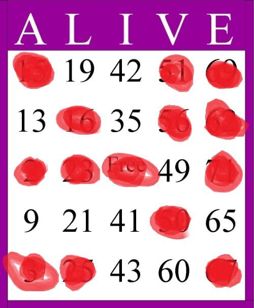 Easter Bingo! Alive10